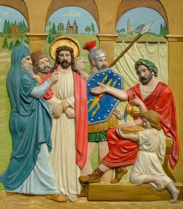 Jesus wird zum Tode verurteilt !